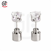 LED Flashing Stud Earrings.Flashing Earrings,LED Earrings,