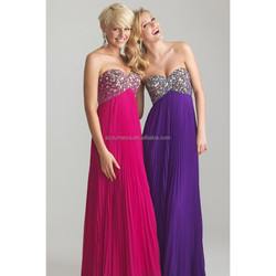 OED330 strapless sweetheart elegant long evening/night gown/dress