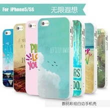 100% New brand customized hard case for iPhone 4 5 image design cover