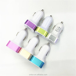 USB power travel mobile car charger for iPhone and other smart phone