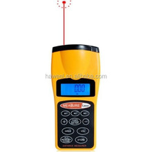 1.8 inch LCD Ultrasonic Distance Measurer With Red Laser Point, CP-3007 (1.5-60 feet)