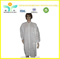 CE approval Disposable PP nonwoven Fashion Doctor Uniform