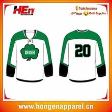 Custom Made Ice Hockey Top, Dyed Ice Hockey Shirt From Ice Hockey Manufacturer