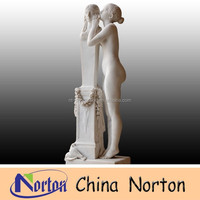 life size Western style marble nude woman statues NTMS396S