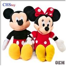 CHStoy stuffed mickey and minnie plush toy