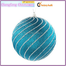 New Design Christmas Ball Candles For Christmas Decoration