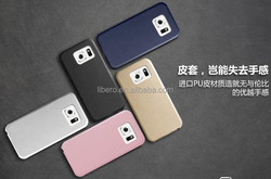 ultra thin leather mobile phone shell case cover for samsung galaxy s6 case
