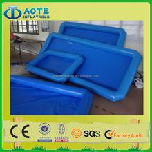 Inflatable PVC tarpaulin fiberglass small swimming pool for sale