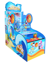 kids Coin-Operated basketball Arcade Game Machine in low price Marine Game
