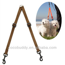 Hot !!! Double Dog Coupler 2 Way Two Pet Dogs Easy Walking Leash