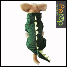 clinquant velvet green dinosaur pet dog apparel & accessories