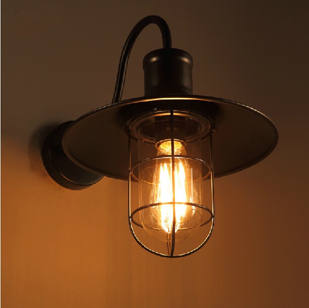 Industrial Wall Lamp Cafe Loft Style Wall Lamp For Corridor, View industrial wall lamp, Garsh ...