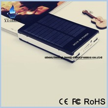 two USB 300000mAh Solar Power Bank Back Up portable battery solar charger With LED lamp for iphone for samsung