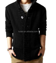2015 hot sale man winter thick open front cardigan sweater