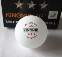 ITTF approved 3 star 40+ seamless plastic ping pong ball