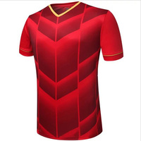 Factory Wholesale Sports Jersey New Model Latest Design Thailand National Team Soccer Jersey