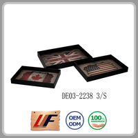 Small Order Accept Home New Design Wood Decorate Indian Wedding Trays