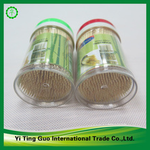 paper wrapped single sharp bamboo toothpick carbonized color