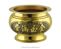 Large side furnace Earless furnace(Fortune/Buddha shine/Responsive) - High quality elegant traditional copper incense burner