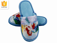 Kids cute cartoon snow white picture indoor slippers for girl