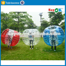 Factory direct inflatable human bubble footballs bubble soccer ball