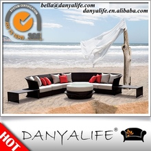 DYSF-R31 Danyalife Outdoor Living Collection PE Wicker Open Air Sectional Set