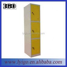 2 door bedroom furniture metal cheap two compartment locker 2 door clothing wardrobe