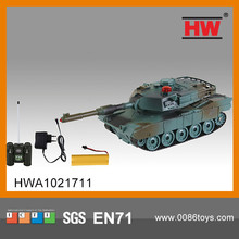 2014 Newborn 8 Channel RC military tank toys include Charger with light and music