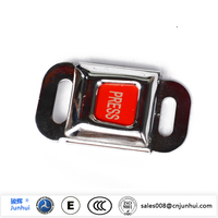 Different types of car seat belt buckle