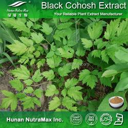 Factory supply Black cohosh extract/Triterpene Glycosides 20%/Black cohosh powder/Anti-cancer plant extract