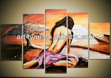 sexy girls pictures handmade oil paintings on canvas