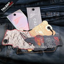 custom private design brand one stop garment accessories for jeans