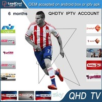 Hot Sale 2015 New IPTV Account Very Stable High Quality