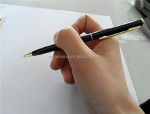 high quality slim metal ballpoint with logo , hotel pen OEM welcome CH6645