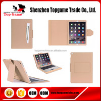 Wireless Bluetooth Keyboard PU Leather Case For iPad Pro case 12.9 inch