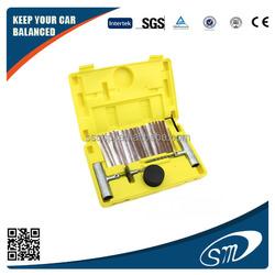 emergency Portable Auto Car tire puncture repair kit