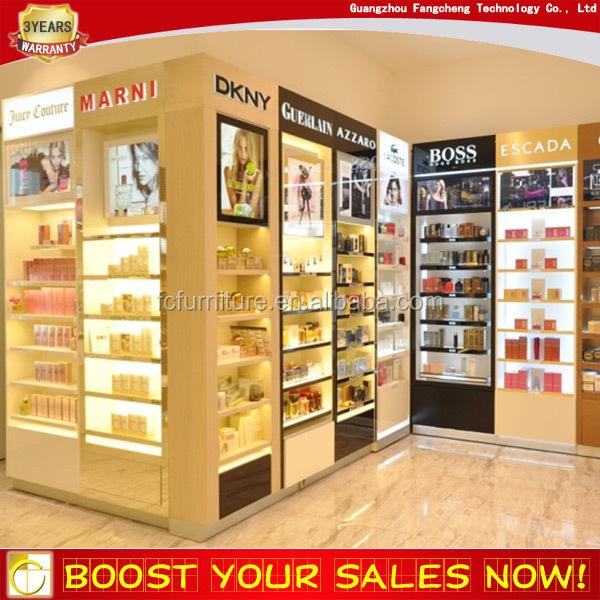 Retail perfume shop decoration interior design for mini for Mini market interior design ideas