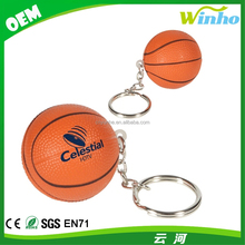 Winho Squeezable Foam Basketball With Key Chain