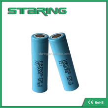 Lowest Price and Best Choice 3.6v Samsung INR18650-15M 1500mAh high discharging battery