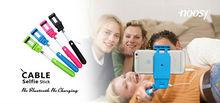 Foldable Selfie Stick Wired Selfie Stick,Monopod Selfie-Stick