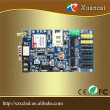 outdoor/indoor/semi-outdoor GPRS wireless led display control card