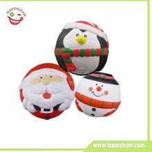 Pu antistress ball promotional christmas items