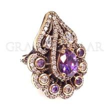Turkish Silver Jewelry Istanbul Grand Bazaar Wholesale Jewellery Manufacturer Handmade Ottoman Design Jewelry from Turkey