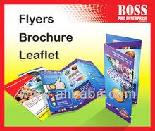 Printing brochure, flyers, leaflet, booklet (A3, A4, A5)