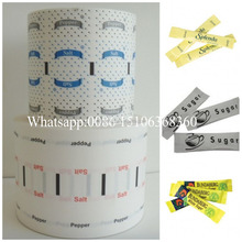 Single PE and Cutted Paper Roll for Sugar &Salt&Pepper Sachets