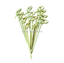 decoration bamboo spoon and fork party use
