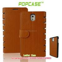 NEW! Hot selling of wallet leather case for samsung galaxy note 3
