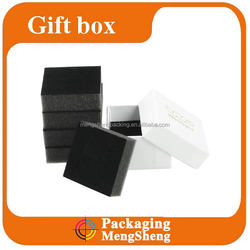 Custom various paper jewelry gift boxes with foam insert
