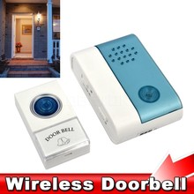 2015 New Home Entry Wireless Doorbell Cordless Door Bell Jingle Bell with Remote Control 40 Meters 38 Ring Tones Chime Alarm