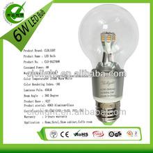 6W led edison bulb